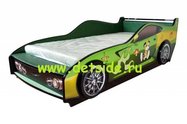 Кровать машинку для мальчика от 3 лет