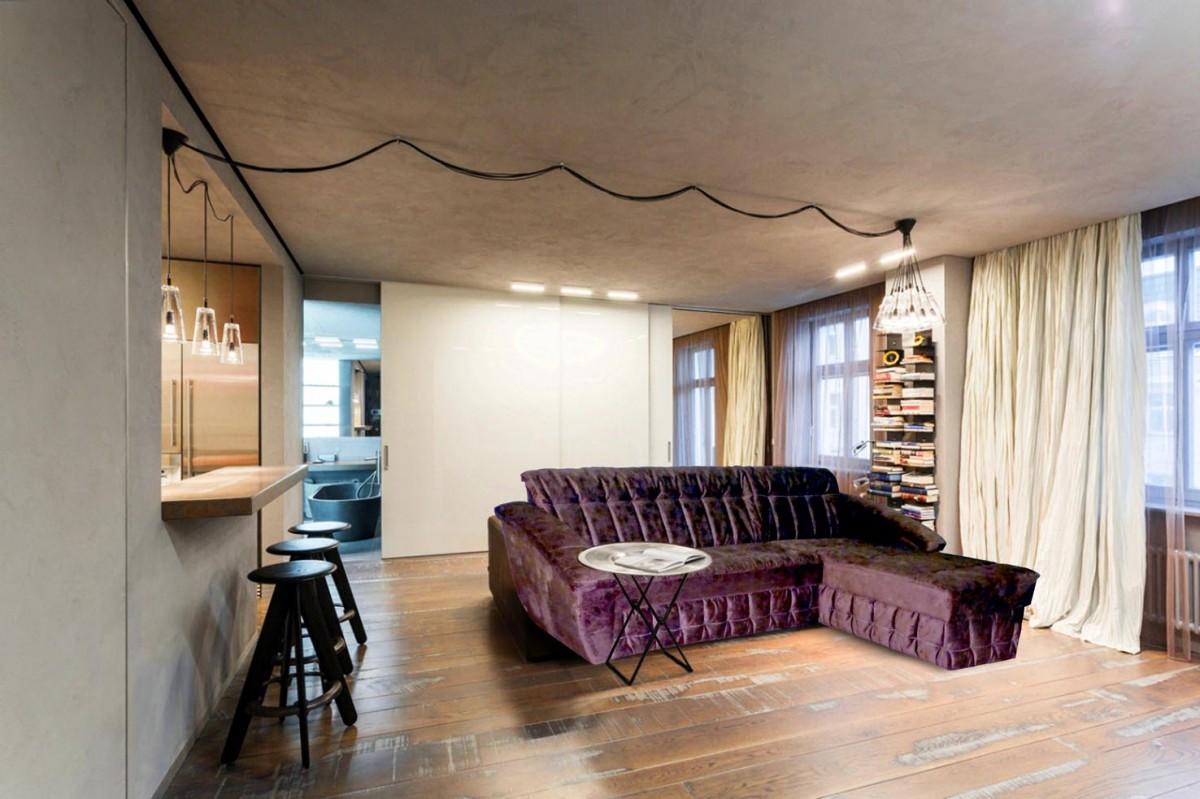 Стильный дизайн квартир студий