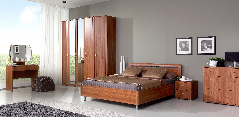 Комплекты мебели для спальни - спальня ambra collection dmi orange