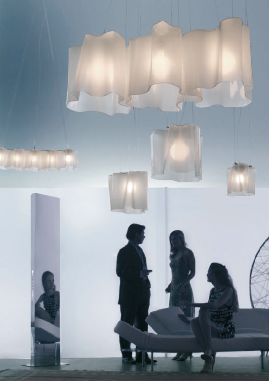 Подвесная лампа в интерьере