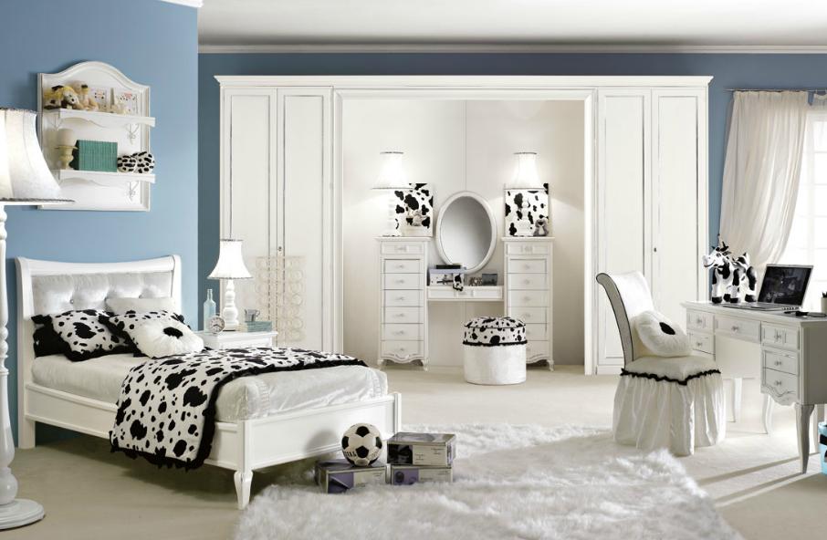 Интерьер комнаты для девушки, комната для девушки, дизайн комнаты д