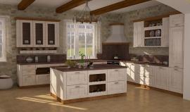 Изготовление кухни на заказ - Латте