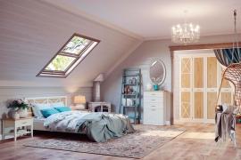 Комплекты мебели для спальни - Спальня Кантри 8 Ангстрем