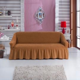 Чехлы на диваны ( 3х-местные) - Чехол на 3-х местный диван, цвет горчичный