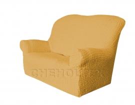 - Чехол Модерн на 2-х местный диван, цвет Медовый