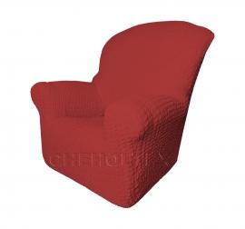 - Чехол Модерн на кресло, цвет Бордовый