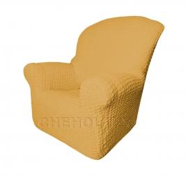 Чехлы на кресла - Чехол Модерн на кресло, цвет Медовый