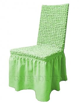 Чехлы на стулья - Чехол на стул, цвет фисташковый