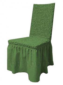 Чехлы на стулья - Чехол на стул, цвет зеленый