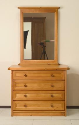 Мебель для гостиной, стенки, горки - Комод из массива сосны