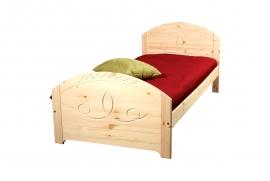 Мебель для детской - Кровать L1 (массив сосны)