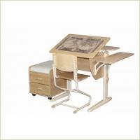 Новинки 2013г. от фабрики Дэми – парты-трансформеры с разделенной поверхностью, из массива дерева, новые стулья и др.