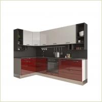 Модульные кухни - Кухня Катюша-Brillo1500 /2700 мм
