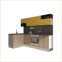 Модульные кухни - Кухня Катюша-Pratico&Locatto 1500 /2400 мм