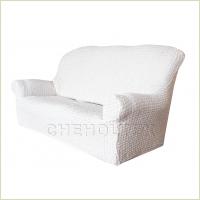 - Чехол Модерн на 3-х местный диван, цвет Кремовый