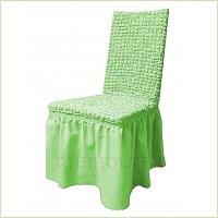 - Чехол на стул, цвет фисташковый