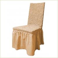 - Чехол на стул, цвет Какао