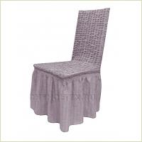 - Чехол на стул, цвет лиловый