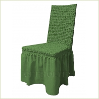 - Чехол на стул, цвет зеленый
