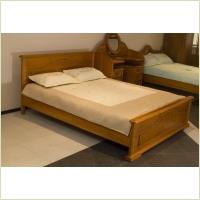 Мебель для дачи - Кровать 2-х спальная из массива ангарской сосны