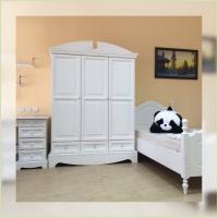 Мебель для детской - Шкаф платяной С702 (массив сосны)
