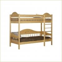 Мебель для детской - Кровать 2-ярусная F3 (массив сосны)