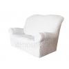 - Чехол Модерн на 2-х местный диван, цвет Кремовый