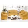 Чехлы на диваны (2х-местные) - Чехол на 2-х местный диван, цвет медовый