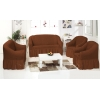 Чехлы на диваны ( 3х-местные) - Чехол на 3-х местный диван, цвет кофе