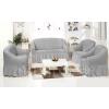 Чехлы на диваны ( 3х-местные) - Чехол на 3-х местный диван, цвет Серый