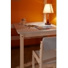 Мебель для детской - Кровать верхнеярусная со столом №2 (массив сосны)