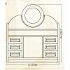 Мебель из массива дерева - Дамский столик из ангарской сосны