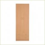 - Симба С-05 Шкаф 2-х дверный с 2-мя ящиками