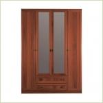 - Джорджия СБ-074 Шкаф 4-х дверный с зеркалом