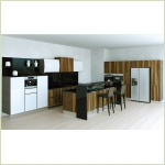 Изготовление кухни на заказ - Бланш Вуд