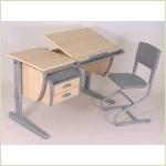 Мебель для детской - Парты-трансформеры ДЭМИ из серии СУТ17
