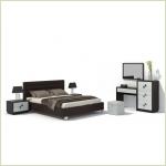 Комплекты мебели для спальни - Спальня Брио 11 Ангстрем