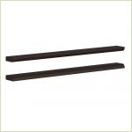 - Горизонтальные профили Брио БР-015.03 для шкафов шириной 901 мм Ангстрем
