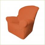 Чехлы на кресла - Чехол Модерн на кресло, цвет Терракот