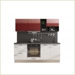 Модульные кухни - Кухня Катюша-Brillo 2100