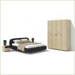 Комплекты мебели для спальни - Спальня Эстетика 9.2 Ангстрем