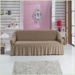 Чехлы на диваны ( 3х-местные) - Чехол на 3-х местный диван, цвет Кофейный