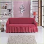 Чехлы на диваны ( 3х-местные) - Чехол на 3-х местный диван, цвет коралловый
