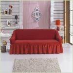 Чехлы на диваны ( 3х-местные) - Чехол на 3-х местный диван, цвет терракот