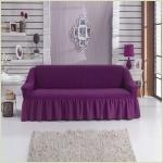 Чехлы на диваны ( 3х-местные) - Чехол на 3-х местный диван, цвет лиловый