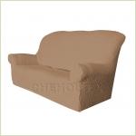Чехлы на диваны ( 3х-местные) - Чехол Модерн на 3-х местный диван, цвет Кофе с молоком