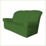 Чехлы на диваны ( 3х-местные) - Чехол Модерн на 3-х местный диван, цвет Зеленый