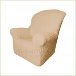 - Чехол Модерн на кресло, цвет Какао