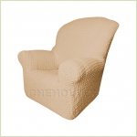 Чехлы на кресла - Чехол Модерн на кресло, цвет Какао