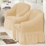 Чехлы на кресла - Чехол на кресло, цвет какао